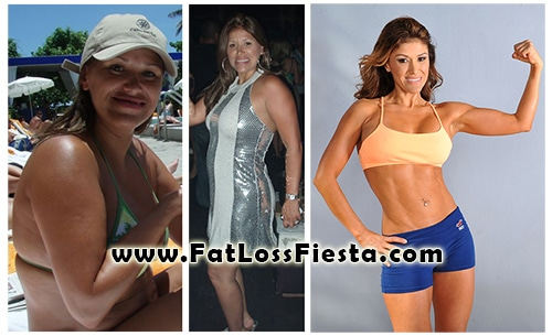 Ingrid Macher before & after