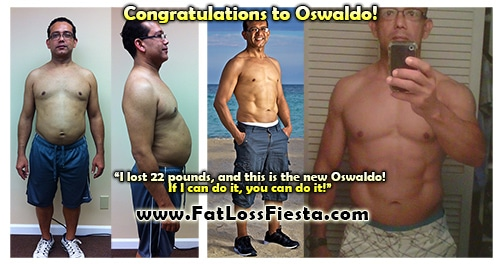 Oswaldo before & after
