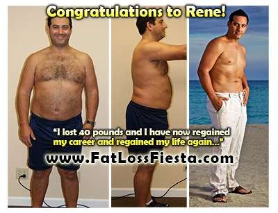 Rene before & after